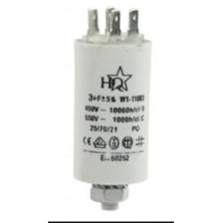 Condensandor permanente 6 uF 450 v