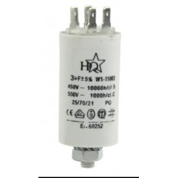 Condensandor permanente 10 uF 450 v