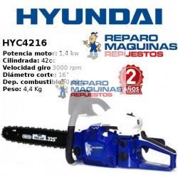 MOTOSIERRA HYUNDAI HYC4216