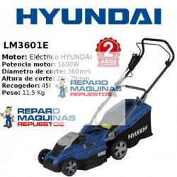 CORTACESPED ELECTRICO HYUNDAY LM3601E