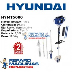 DESBROZADORA HYUNDAY MULTIFUNCION HYMT5080