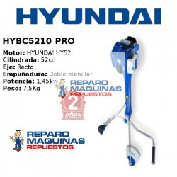 DESBROZADORA HYUNDAY HYBC520 PRO