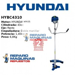 DESBROZADORA HYUNDAY HYBC4310