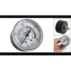 "reloj manometro  1/4"" 0-12 bar 1450"