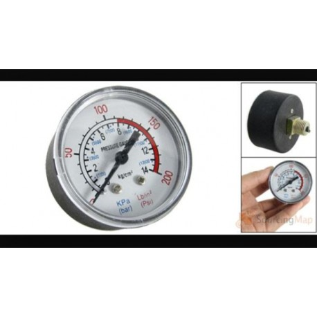 "reloj manometro 1/4"" 0-12 bar 1450"