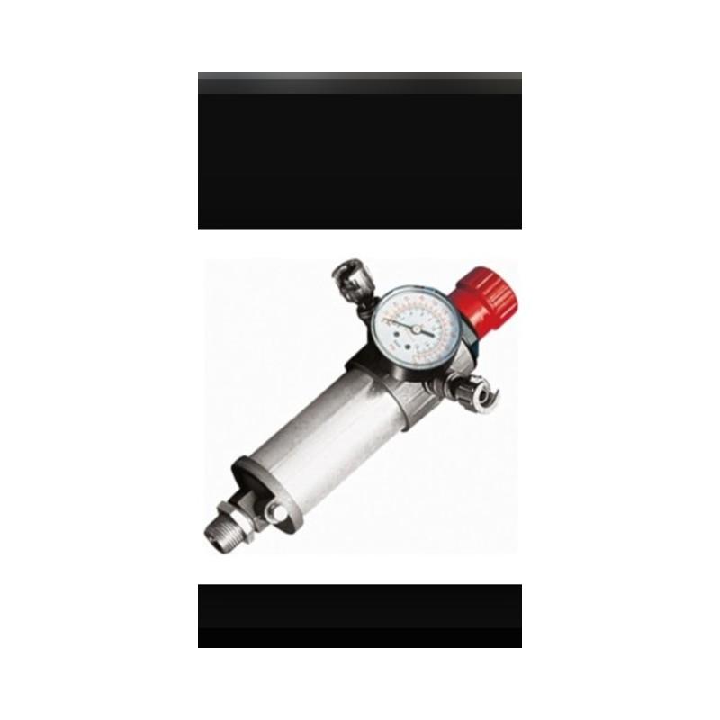 Regulador de presion compresor con reloj manometro y dos - Regulador de presion ...