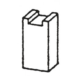 ESCOBILLAS ELU   6,3x6,3x11,5