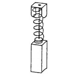 ESCOBILLAS METABO   6,4x6,4x16