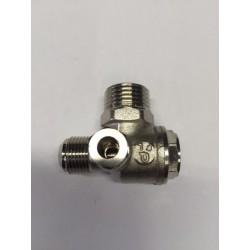 """valvula antiretorno compresor M 1/2""""-M 3/8"""""""